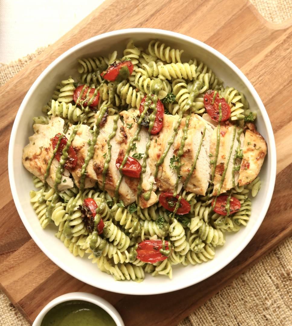 Chicken Pesto Rotini